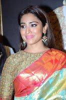 Shriya Saran Looks Stunning in Silk Saree at VRK Silk Showroom Launch Secundrabad ~  Exclusive 064.JPG