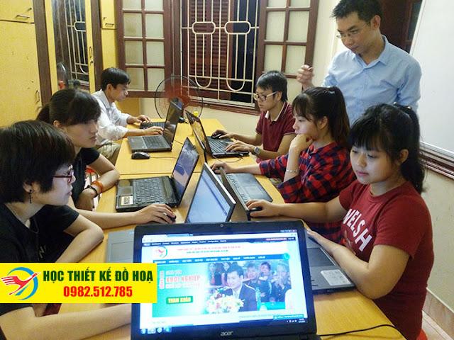 Lớp học đồ họa photoshop uy tín chất lượng tại Bắc Từ Liêm