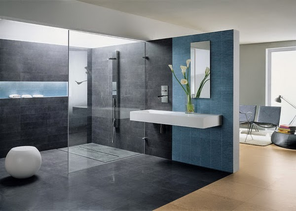 Blue Bathroom Design Ideas 1