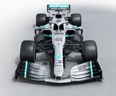 Mercedes reveals W10 Formula 1 New Car for 2019.