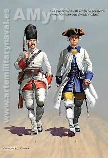 Comprar lámina soldados Blas de Lezo 2