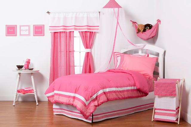 Hot Pink Girls Bedding