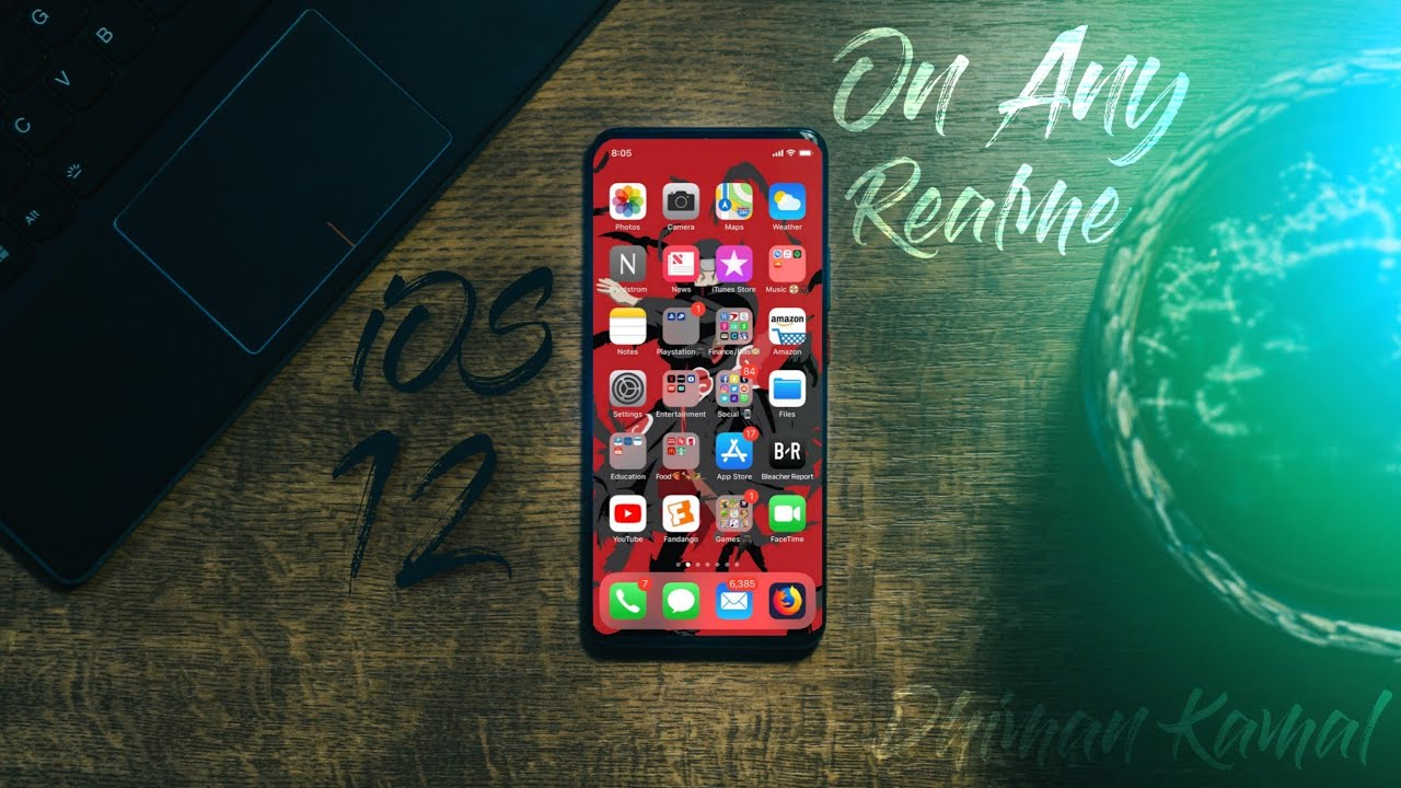 iOS 12 Theme For Realme 3 Pro/3/U1/C1 | iOS theme For All