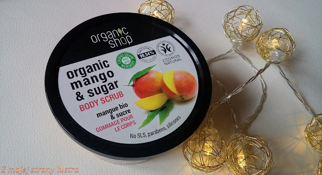 peeling do ciała Organic shop mano