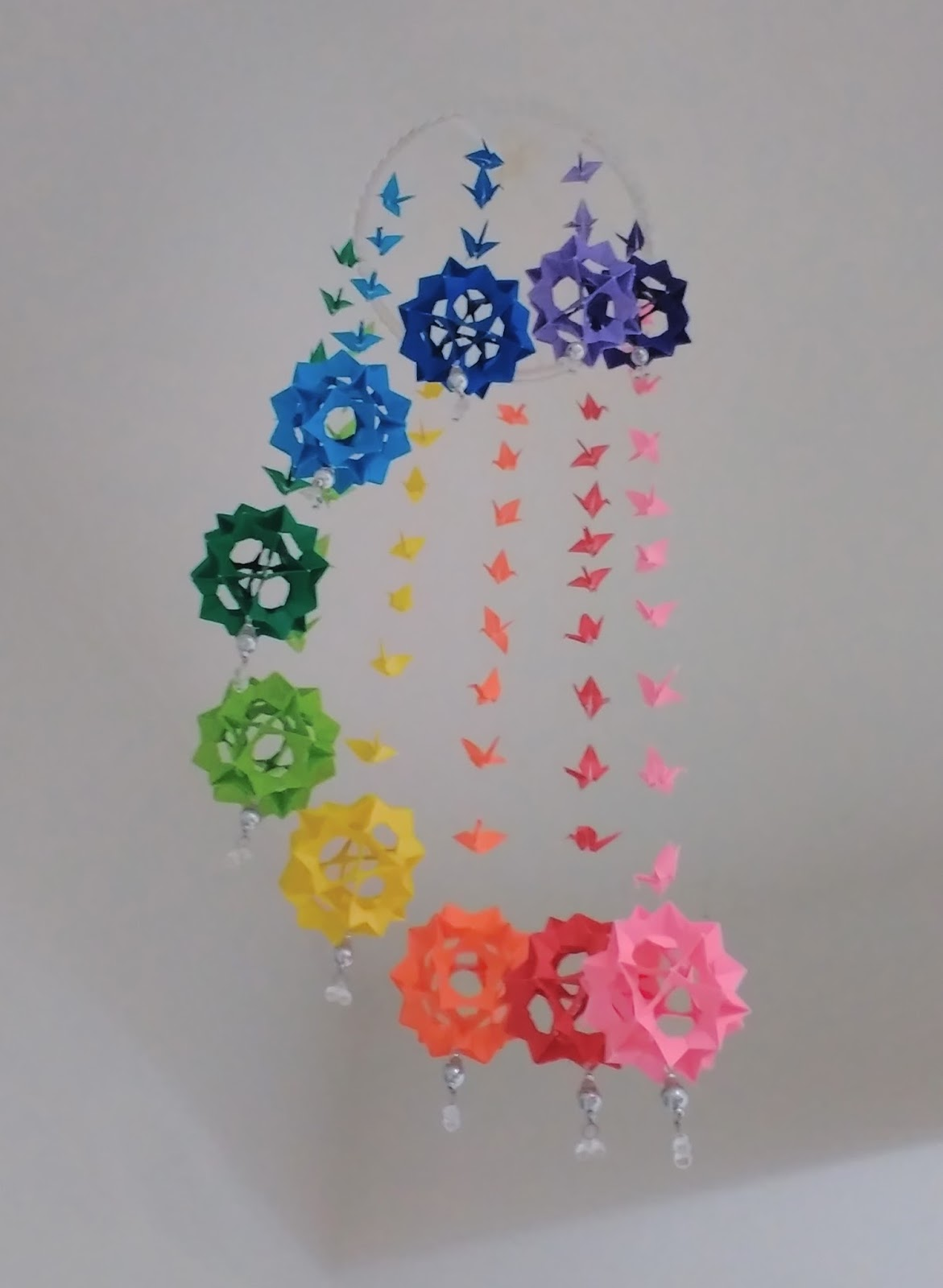Origami: Origami Wind Chime/Mobile - photo#41