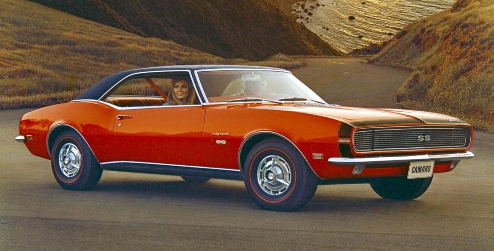 All About Muscle Car 1968 Chevrolet Camaro Muscle Car Description