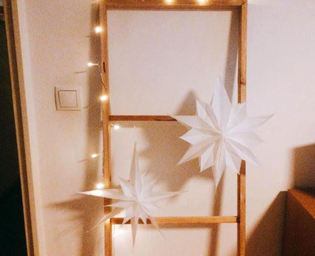 Stella di Natale di carta, deco fai da te
