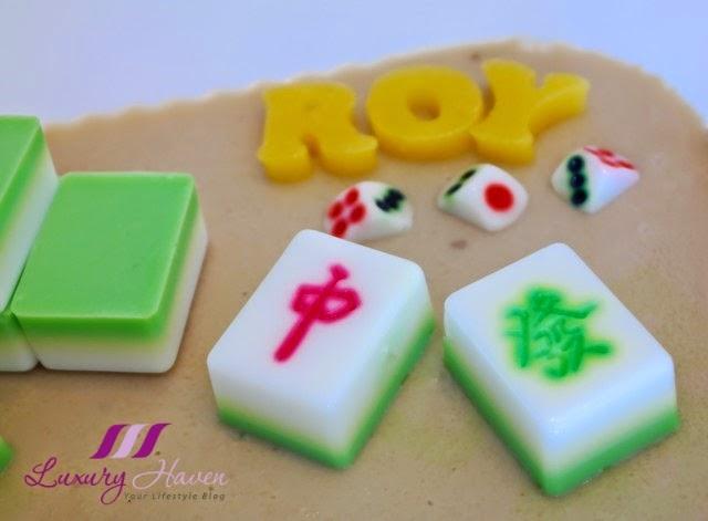 Mahjong Agar Agar Cake