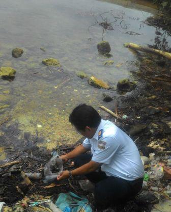 Tumpahan Minyak Di Pulau Tidung, Kepulauan Seribu Sudah Dibersihkan