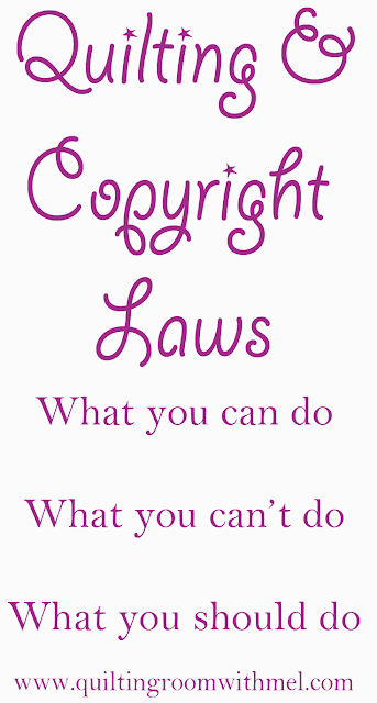 quilting & copyright laws
