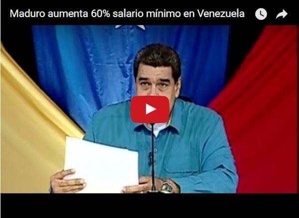 Maduro intenta comprar consciencias con un aumento de sueldo