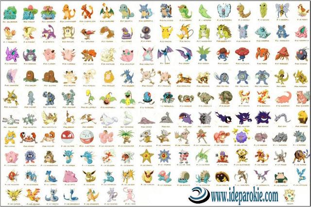 77 Daftar Pokemon Langka Terbaru dan Evolusinya dalam Permainan Pokemon Go