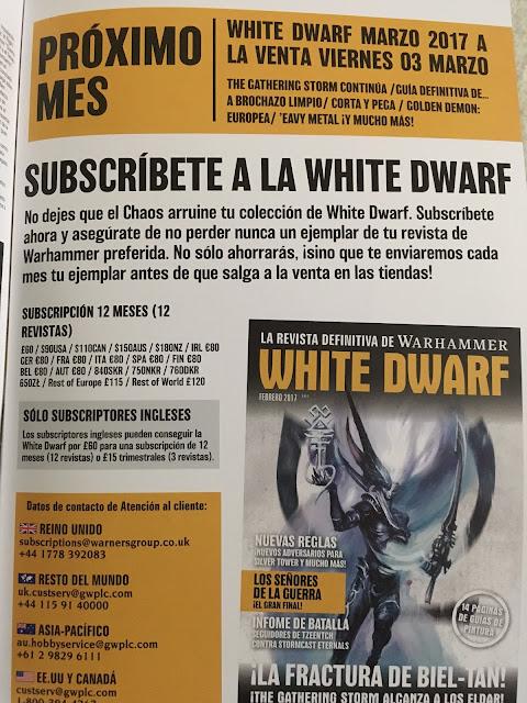 White Dwarf febrero