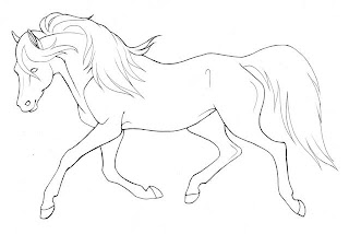 Horse coloring pages holiday.filminspector.com