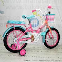 Sepeda Anak Wimcycle Barbie Rock 16 Inci Lisensi
