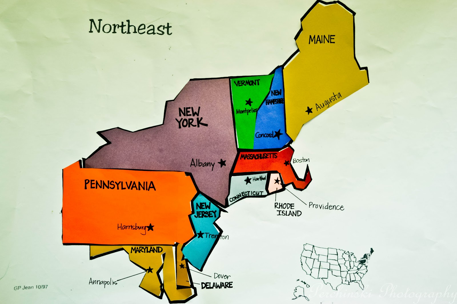 Ms Lyons 5th Grade Blog Our Interactive Regions
