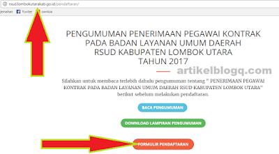 gambar cara daftar online di rsud.lombokutarakab.go.id