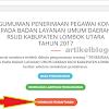 rsud.lombokutarakab.go.id : Website Pendaftaran Online Tenaga Kontrak RSUD Lombok
