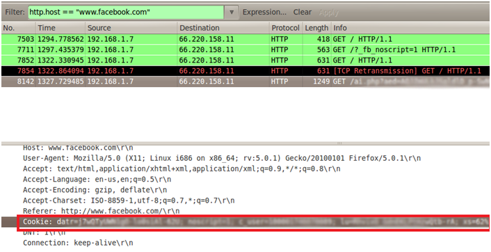 Sniffing con Wireshark 25
