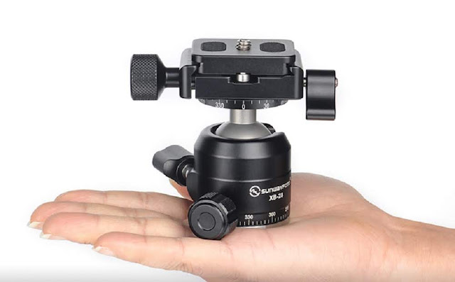 Sunwayfoto XB-28II Low Profile Ball Head overview