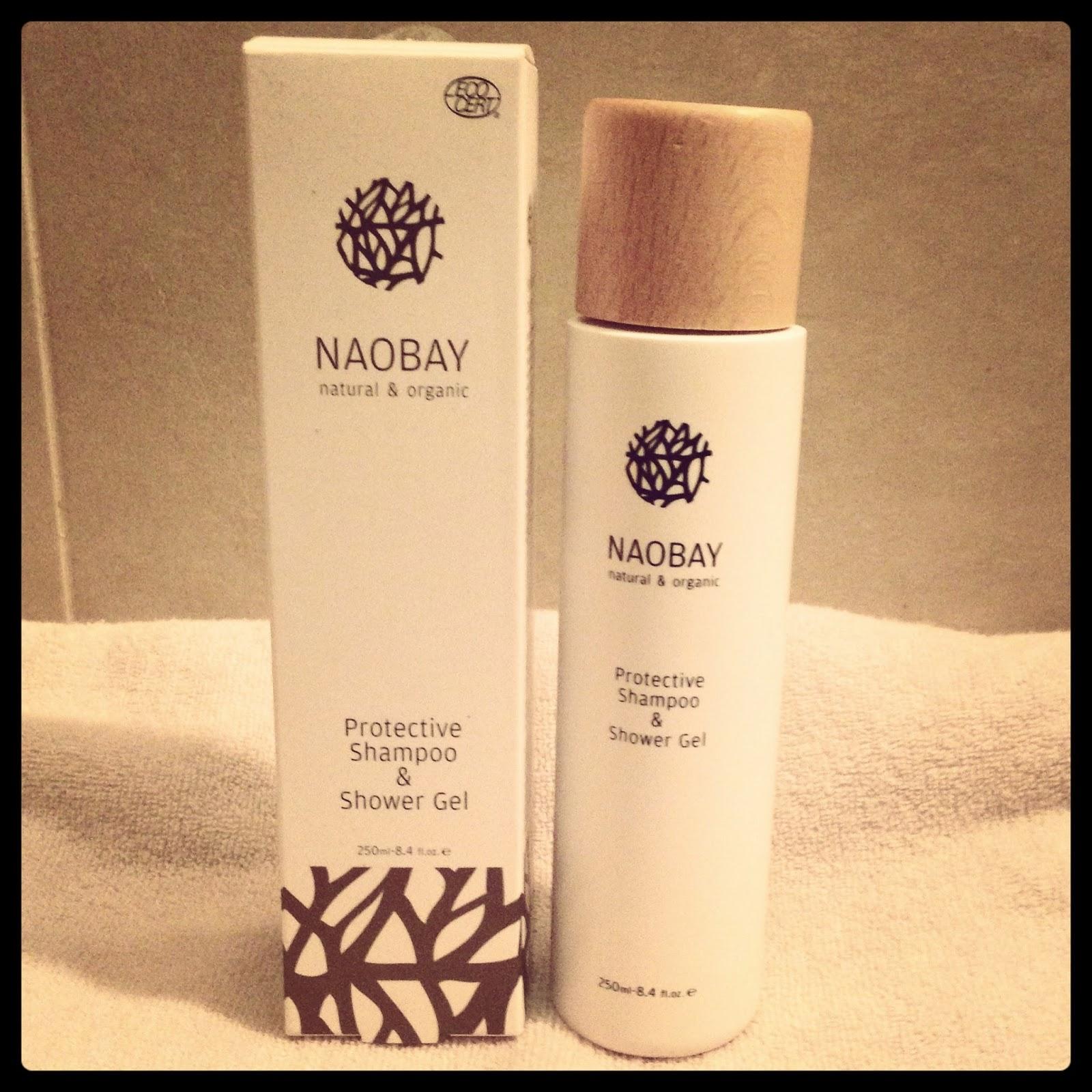 Champú y gel en un sorprendente producto de Naobay