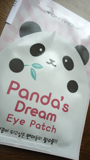 [Tony Moly] L'avant/après du Panda's Dream Eye Patch