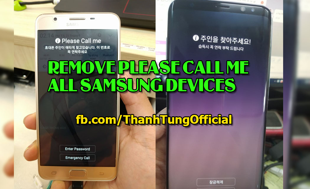Samsung G610S remove FRP and Please call me lock - Tungtata