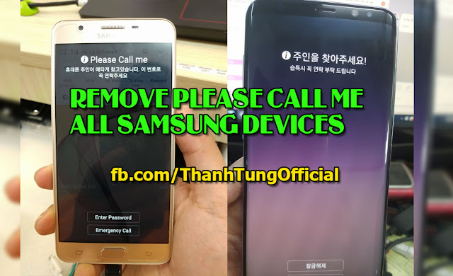 Samsung G610S remove FRP and Please call me lock