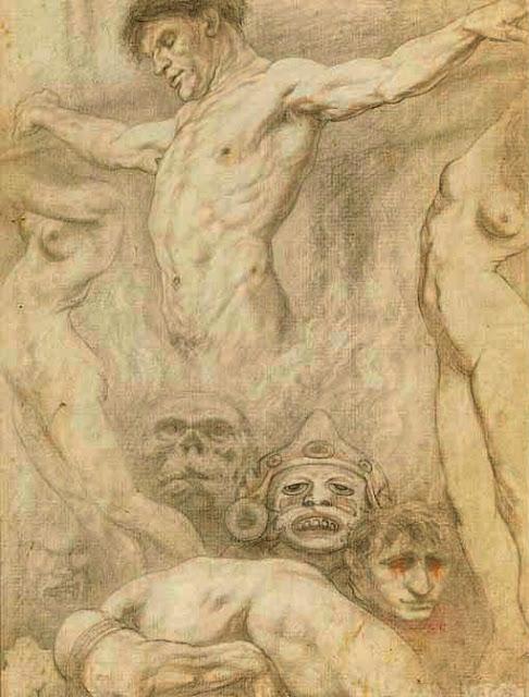 Austin Osman Spare, Art, Arte, Pintura