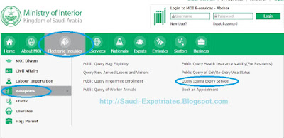 Check Iqama expiry date or validity in KSA