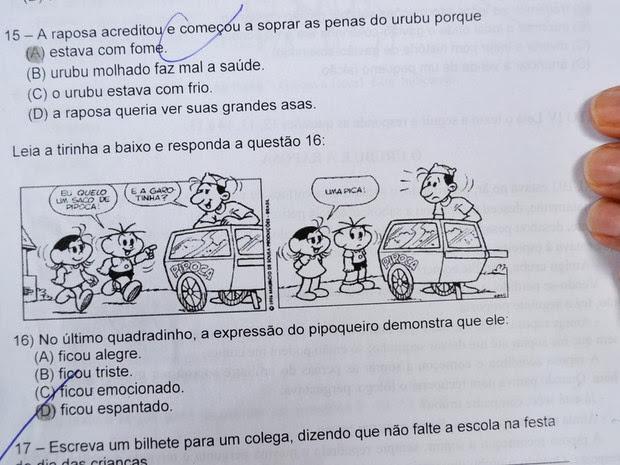 Frases Engraçadas Sobre Provas De Faculdade: Bem Vindo Ao Blog Do João Bráz: Prova Com Palavrão Em
