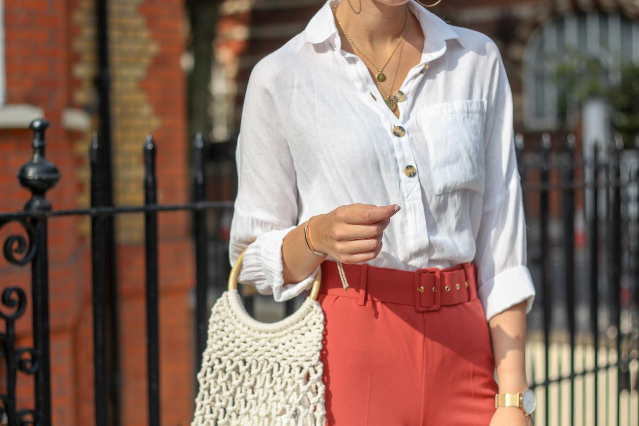 autumn style white shirt topshop peexo