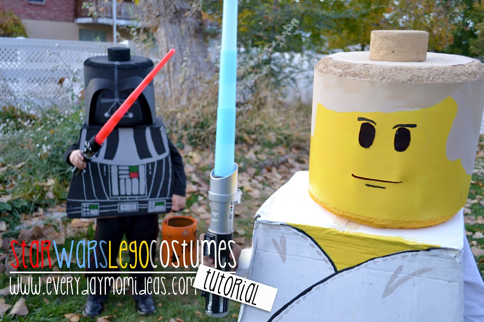 Lego Star Wars Costume (DIY Tutorial -Under $20) & Lego Star Wars Costume (DIY Tutorial -Under $20) - Everyday Mom Ideas