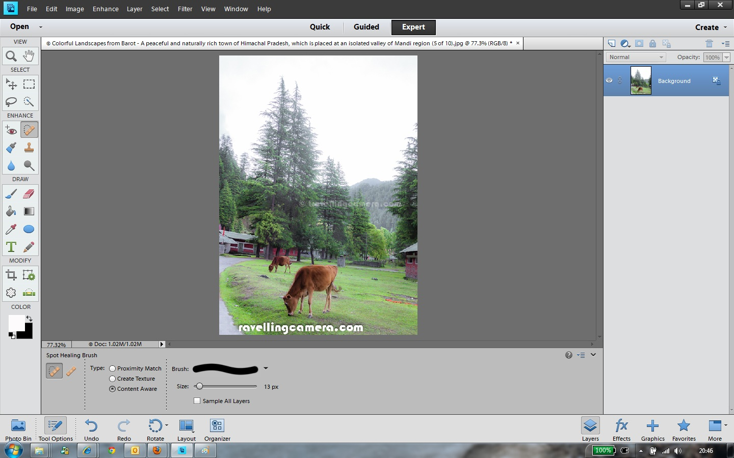 How to remove Watermarks of some other unwanted elements