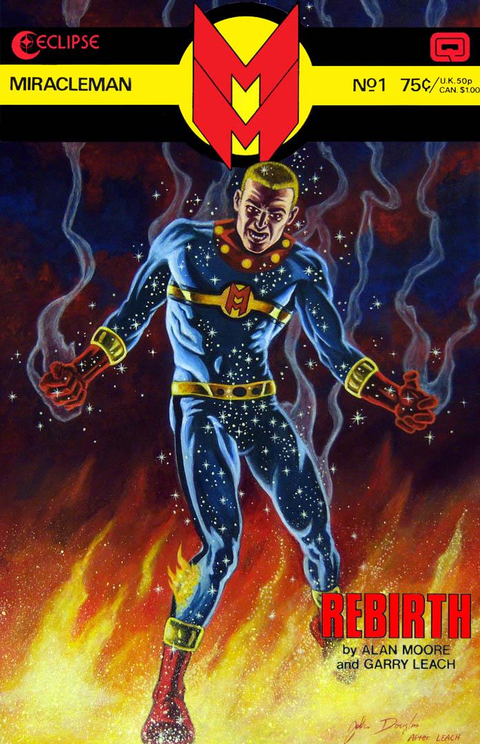 Miracleman #1, by John Douglas.