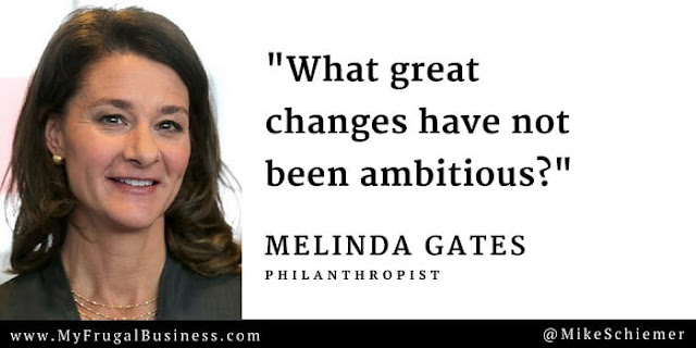 Bootstrap Business Melinda Gates Quotes For Success Positive Change Magnificent Philanthropy Quotes