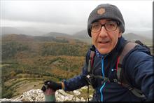 Armikelo mendiaren gailurra 888 m. -- 2017ko azaroaren 25ean