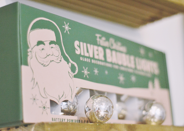 Vintage style Christmas decorations
