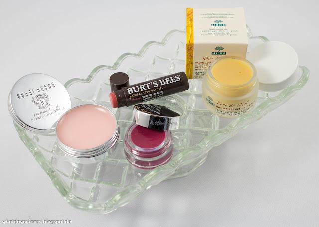 Balsam für die Lippen