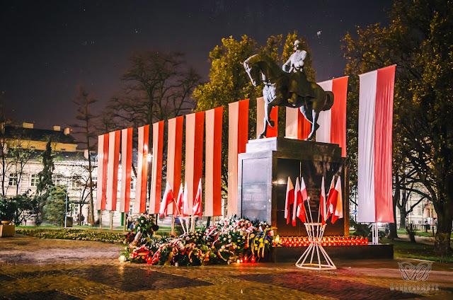 Wieczorny spacer - Lublin, 11 listopada