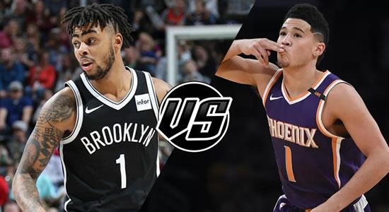 Live Streaming List: Brooklyn Nets vs Phoenix Suns 2018-2019 NBA Season