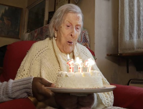 World's oldest person dies in Italy at age 117