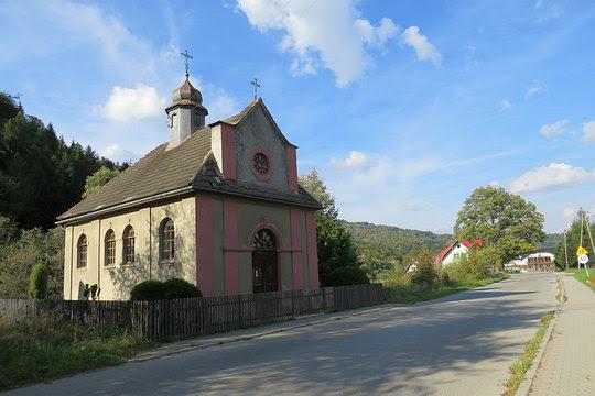 Kaplica Podwyższenia Świętego Krzyża z 1926 roku.