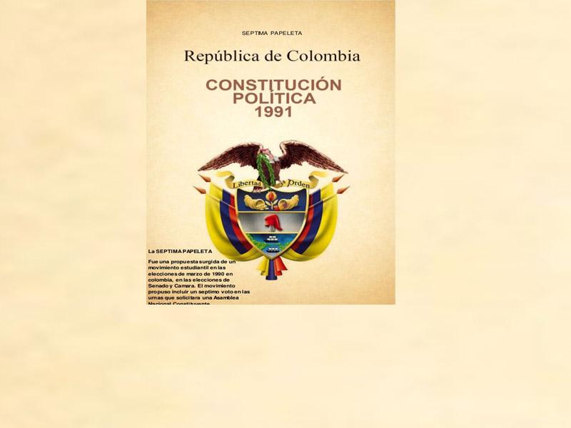 28 Años De La Constitución De 1991
