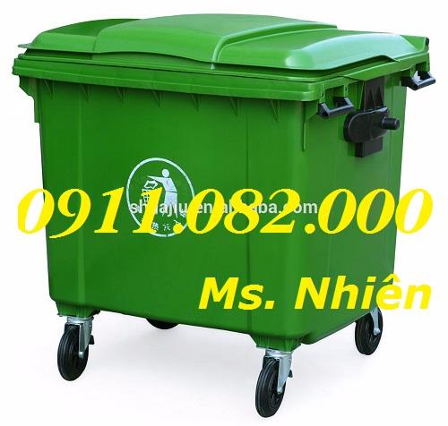 Thùng rác chuyên sỉ giá rẻ- hạ giá thùng rác 120 lít 240 lít 660 lít giá thấp nhất
