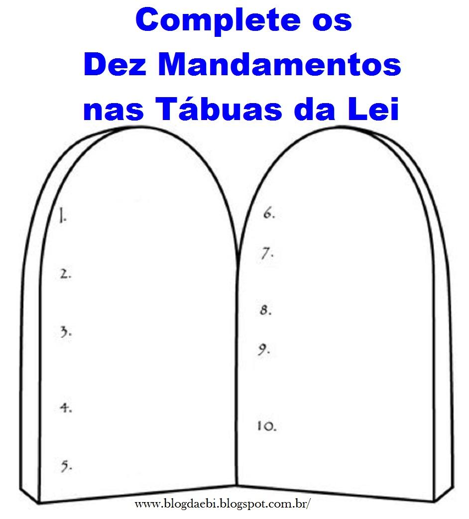 Favoritos Blog da EBI: As Tábuas da Lei BB59