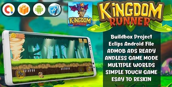 kingdom Runner - Android & Ios Game nulled, kingdom Runner - Android & Ios Game free download, kingdom Runner - Android & Ios Game download