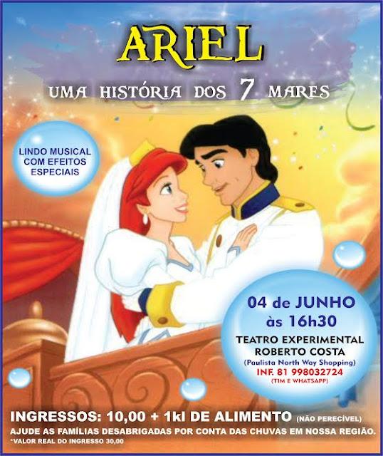 Humantoche Produções  Ariel, uma história dos 7 mares Humantoche Produções