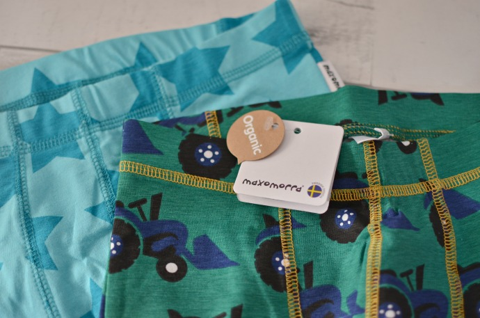 Christmas Gift Guide for a Six year old - Organic Maxomorra pants