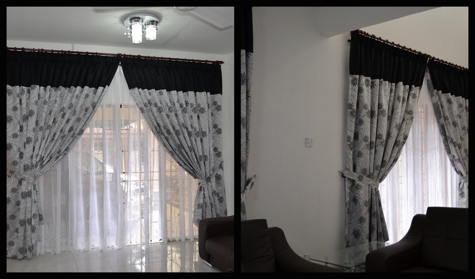 Ni Plak Living Hall N Dining Yg Bersmbungan Hitam Grey Sebab Dindingnye Putih Aje